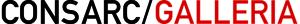 CONSARC/GALLERIA Logo